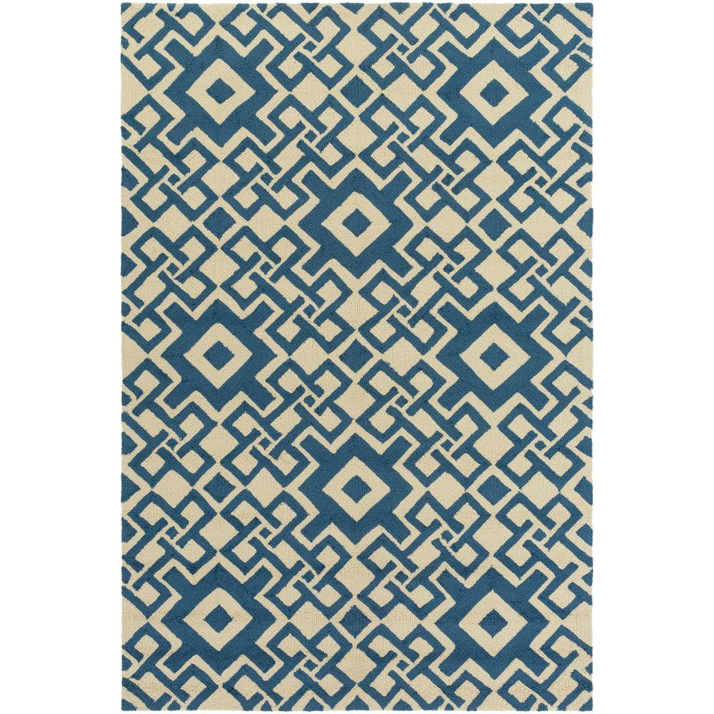 Cahto Teal 3 ft. 3 in. x 5 ft. 3 in.