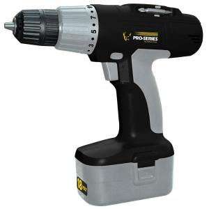 PRO-SERIES 18-Volt Cordless Drill by PRO-SERIES