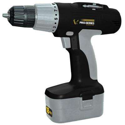18-Volt Cordless 3/8 in. Power Drill
