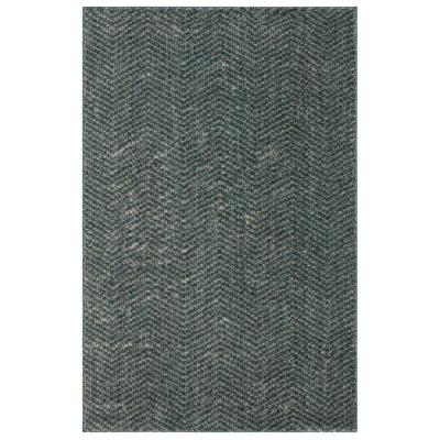 Clinton Blue 8 ft. x 10 ft. Indoor Area Rug