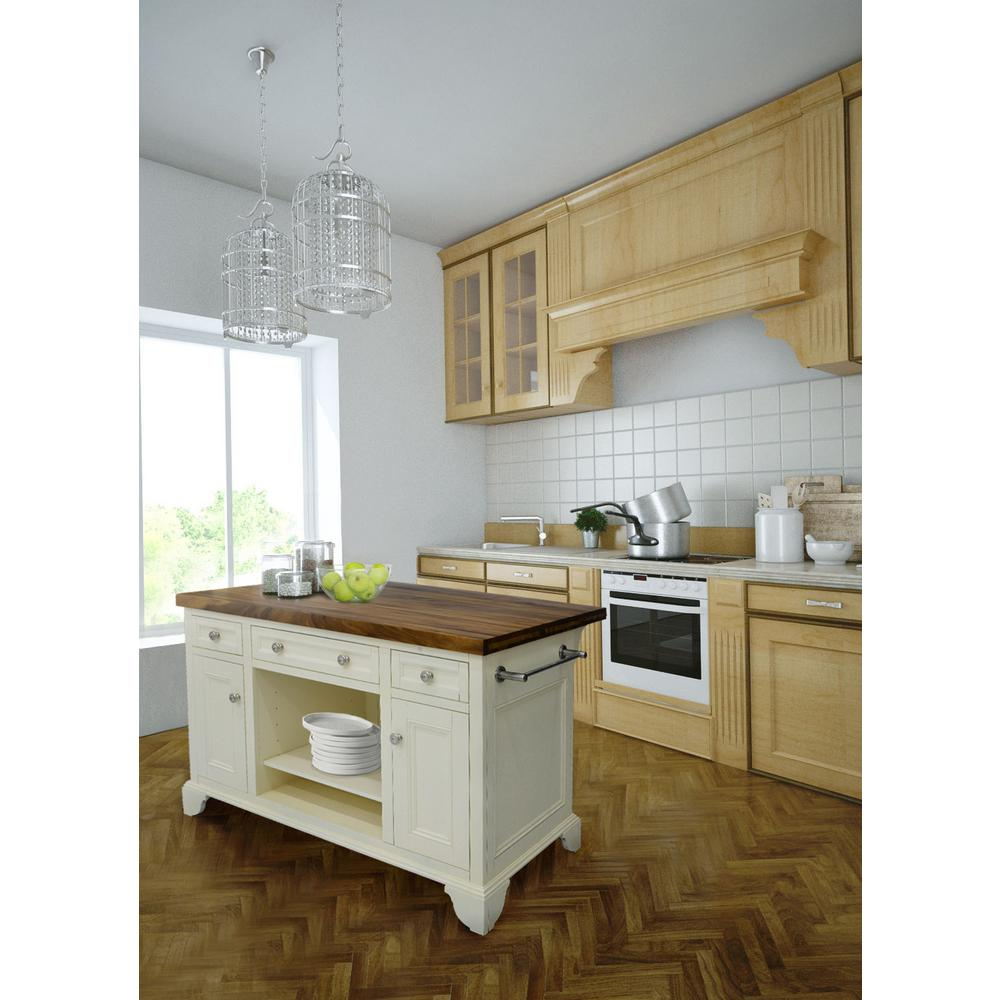 Kitchen Islands And: 222 Fifth Sutton Kitchen Island-7002WH752A1B34