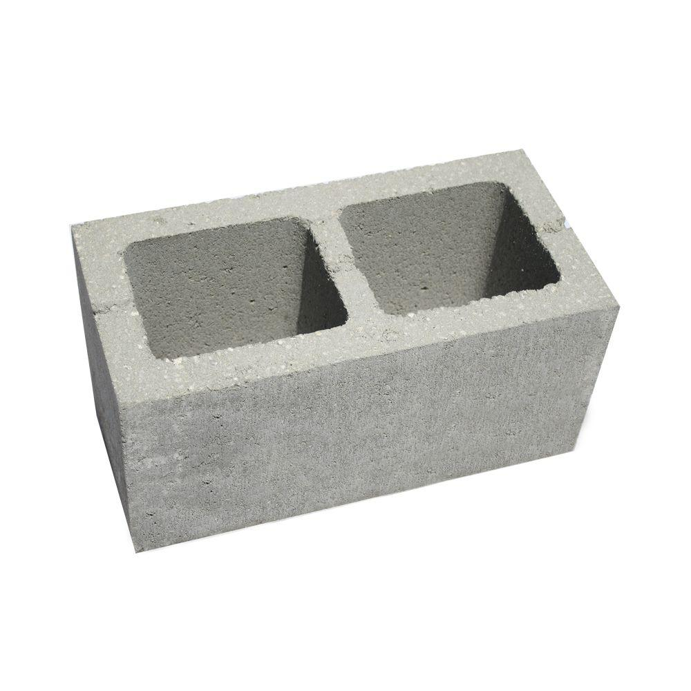 8 In. X 8 In. X 16 In. Concrete Block-100825