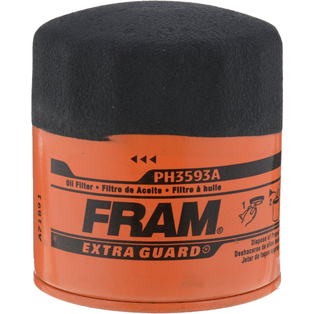 fram filters 3 5 in extra guard oil filter ph3593a the. Black Bedroom Furniture Sets. Home Design Ideas