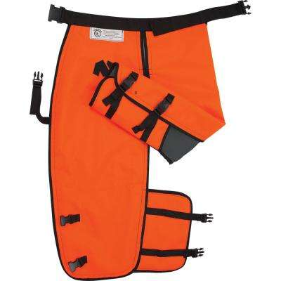 32 in. Chainsaw Chaps with Calf Wrap - Medium