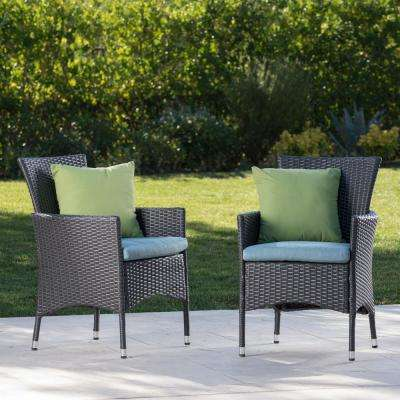 Teal Patio Chairs Patio Furniture The Home Depot