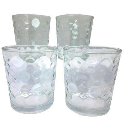 Great Foundations 4-Piece Glass Tumbler Set