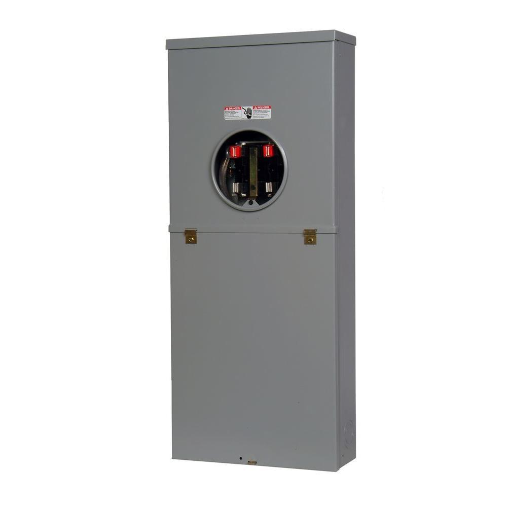 Murray 200 Amp Overhead Service Combination Meter Socket ...
