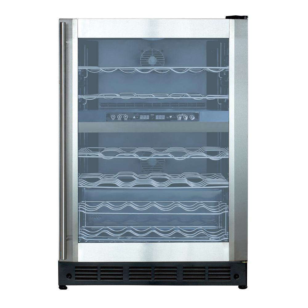 KitchenAid 20.9 cu. ft. Built-In Bottom Freezer Refrigerator in ...