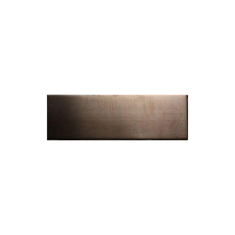 Splashback Tile Metal Copper Stainless Steel Floor and Wall Tile - 2 ...