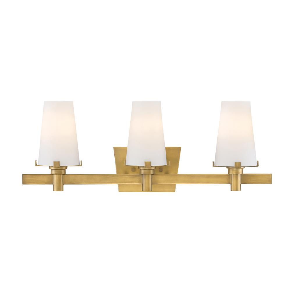 Gold Bathroom Vanity Lights. Designers Fountain Hyde Park 3 Light Vintage Gold Interior Incandescent Bath Vanity Light