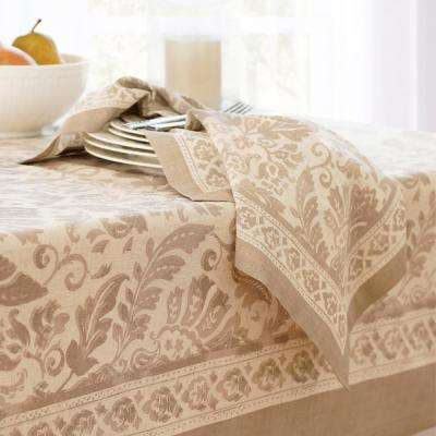 Milano 21 in. W x 21 in. L in Taupe Napkins (Set of 4)