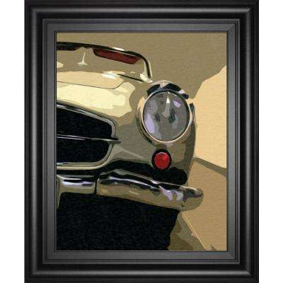 """22 in. x 26 in. """"Mercedes Classic"""" by Malcolm Sanders Framed Printed Wall Art"""