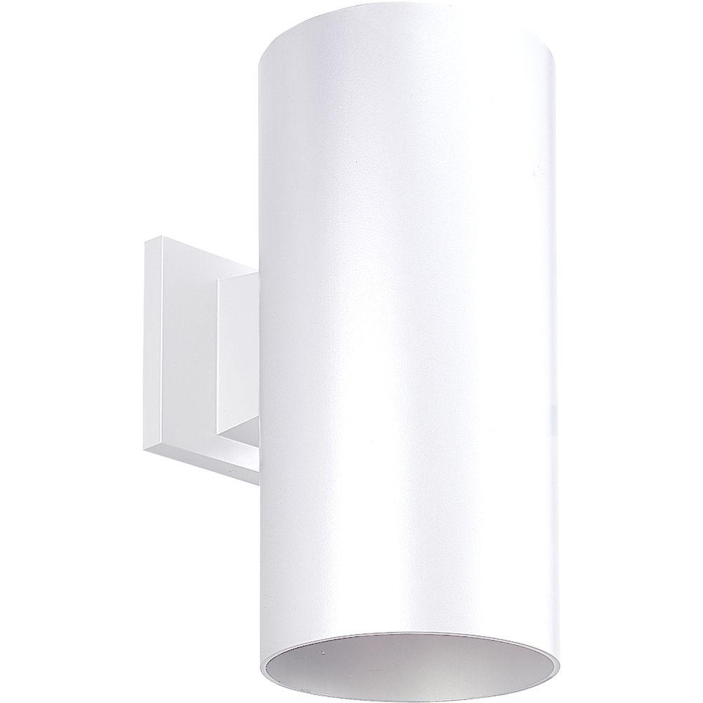 Progress Lighting 1-Light White 12 in. Outdoor Wall Lantern