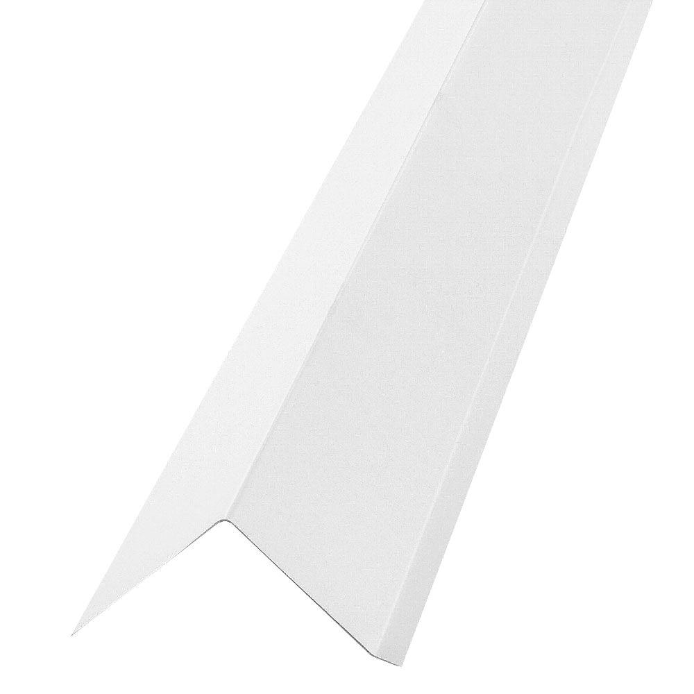 Construction Metals 2 In. X 3 In. X 10 Ft. Roof Edge Flashing