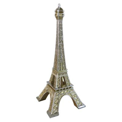 15 in. Champagne Eiffel Tower Tabletop