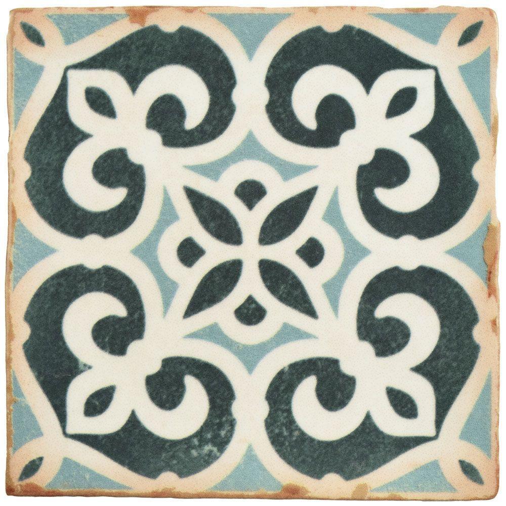X Ceramic Tile Tile The Home Depot - 5x5 inch tiles