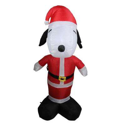 3.5 ft. H Inflatable Santa Snoopy