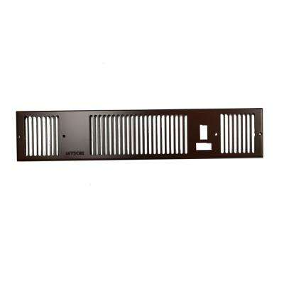 Grille for Whispa III 9000 in Brown