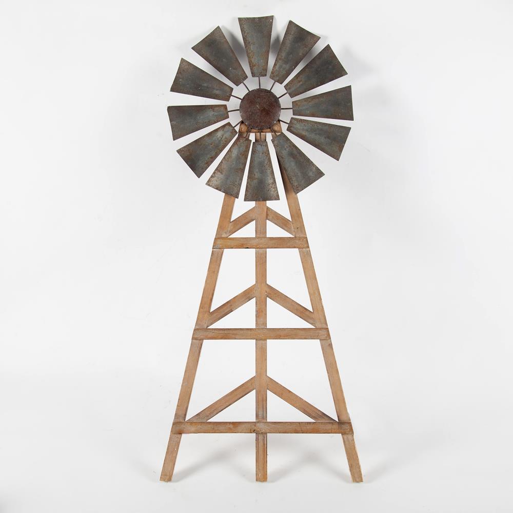 Wind Mill Plaque Metal Work