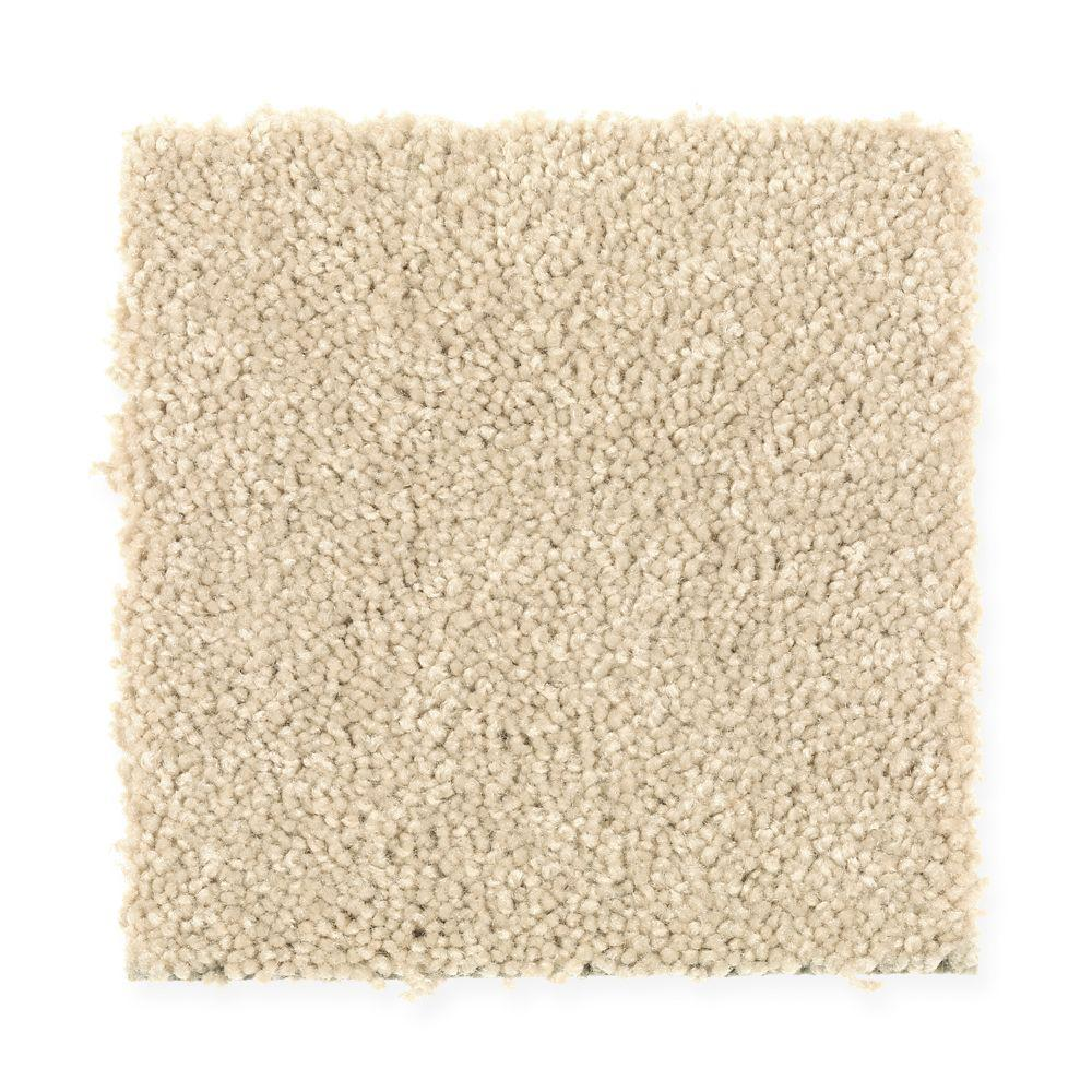 Carpet Sample - Turbo II - Color Haystack Texture 8 in.