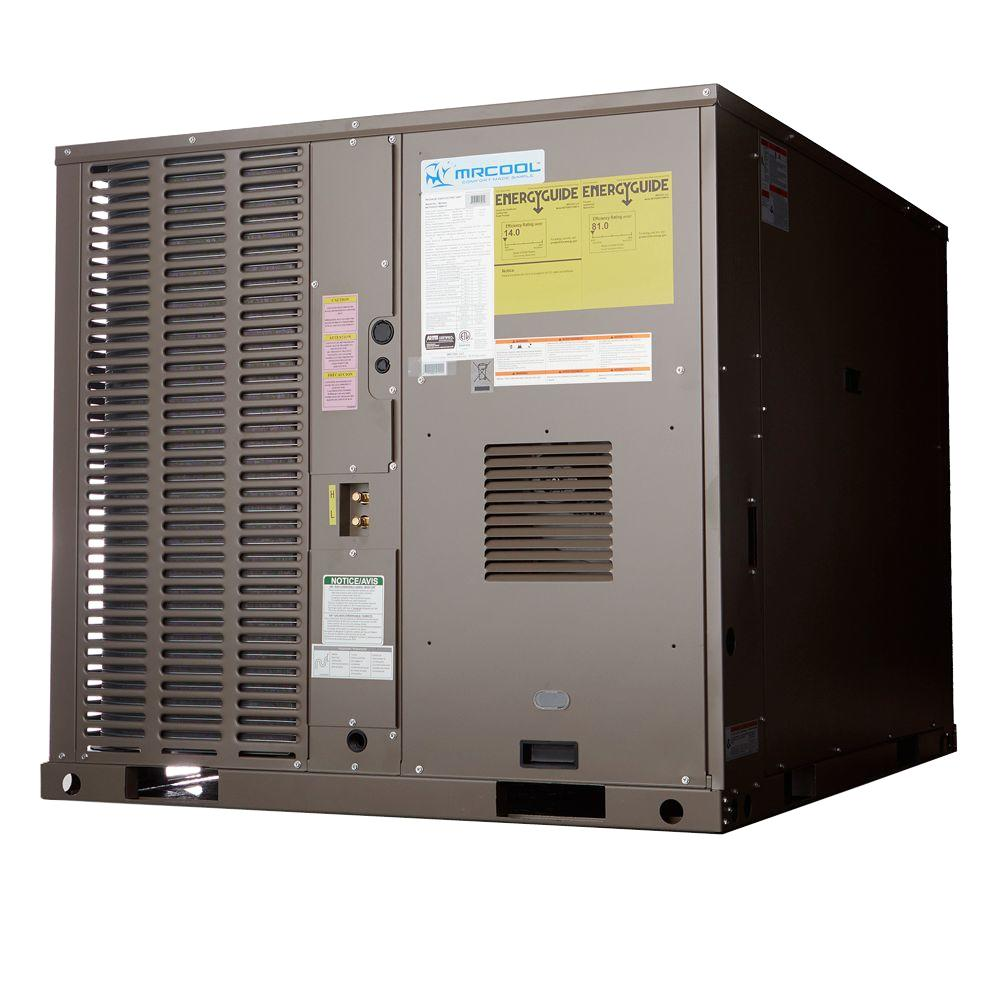 Whole house ac units - 2 5 Ton 14 Seer R 410a Horizontal Or Down Flow Package A C And