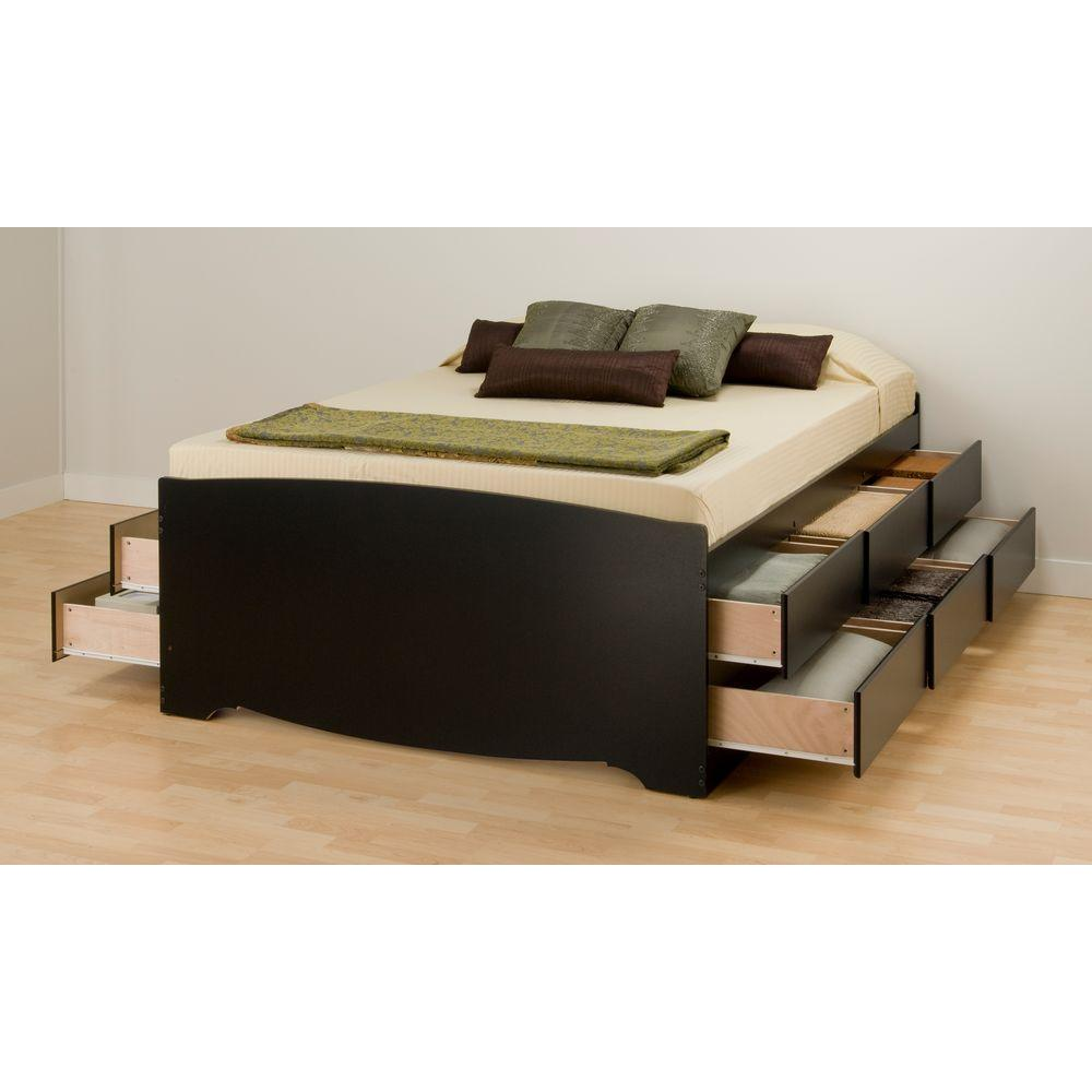 Contemporary Bed Frame With Drawers Plans Free