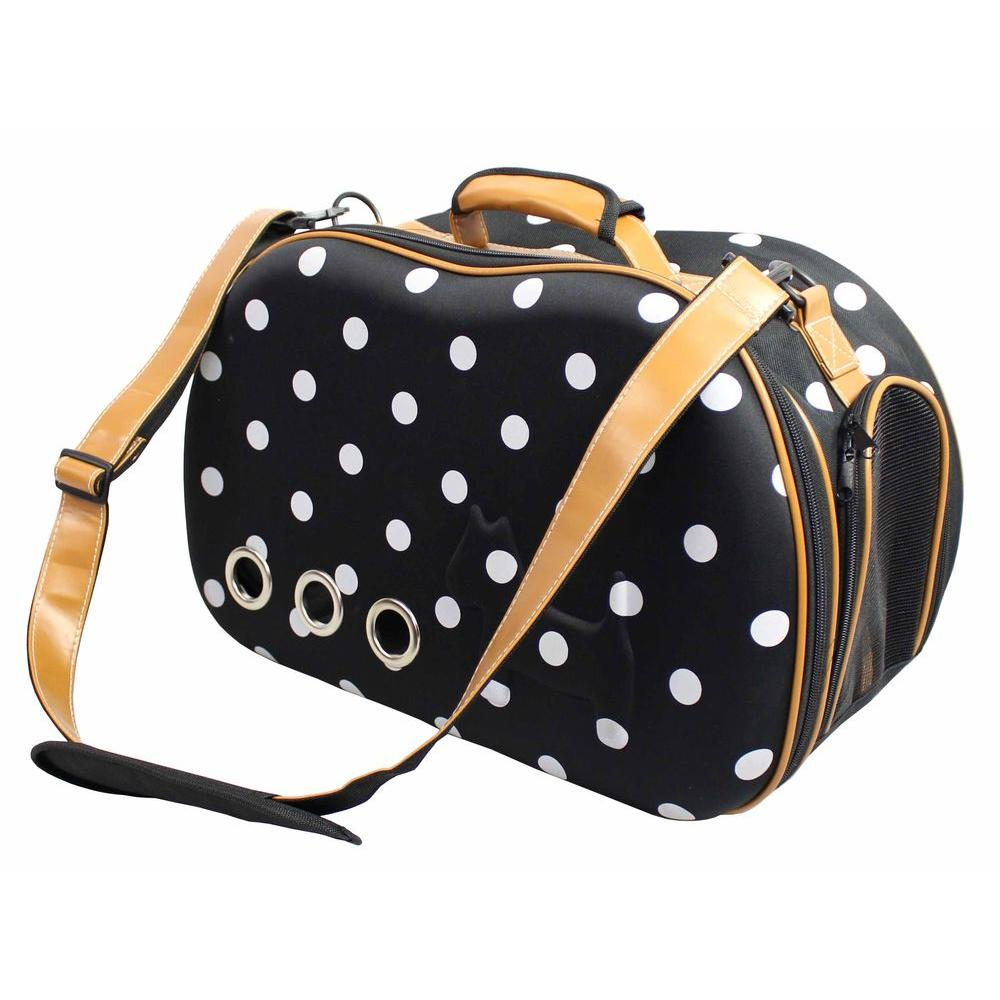 Fashion Dotted Venta-Shell Perforated Collapsible Military Grade Designer Pet