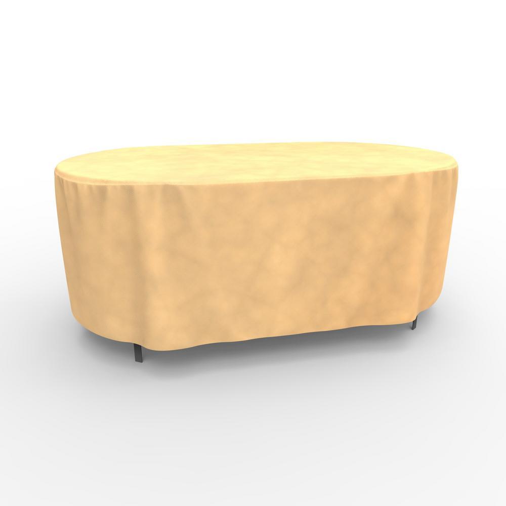 All-Seasons Medium Oval Patio Table Covers
