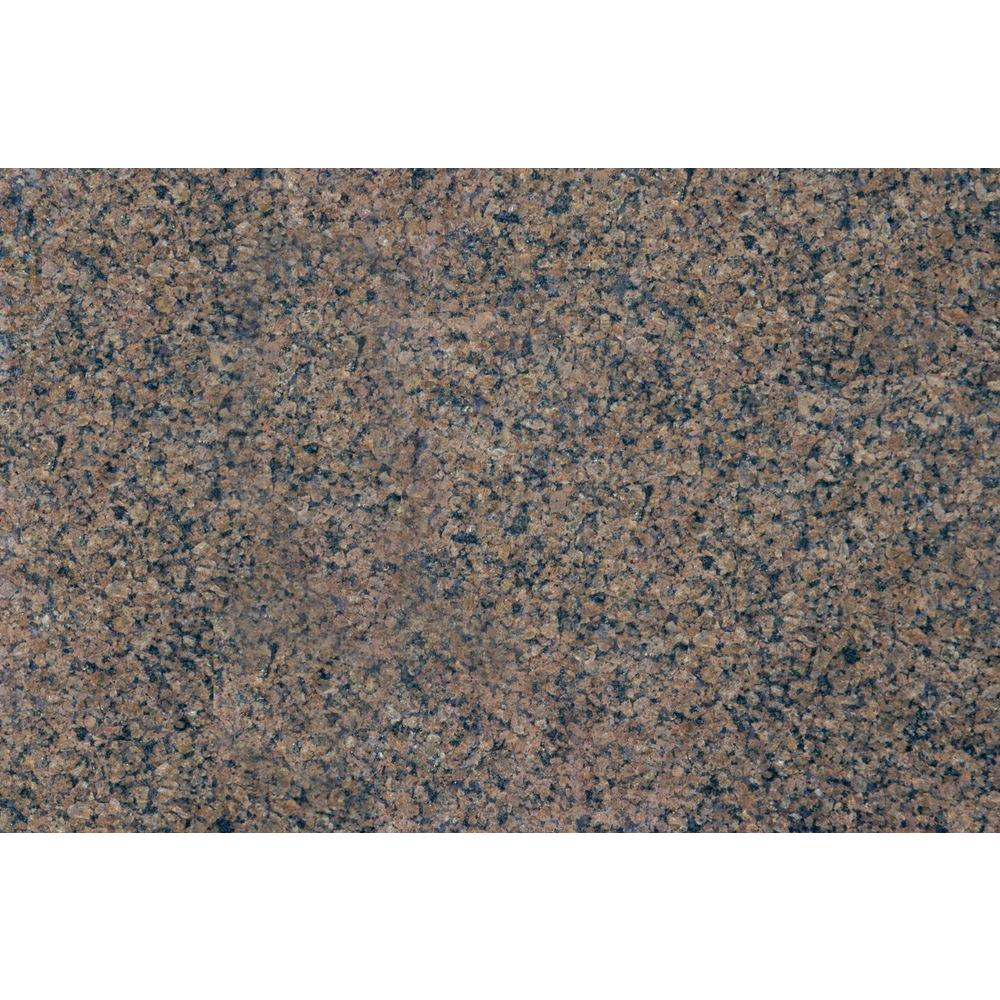 Msi Tropic Brown 18 In X 31 In Polished Granite Floor And Wall