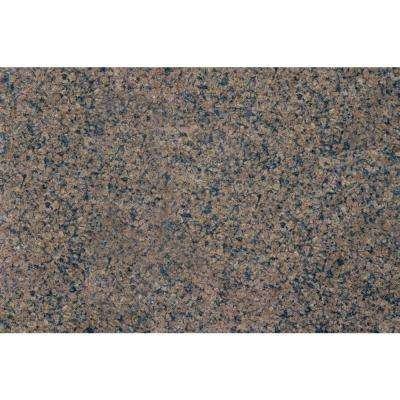 Tropic Brown 18 in. x 31 in. Polished Granite Floor and Wall Tile (7.75 sq. ft. / case)