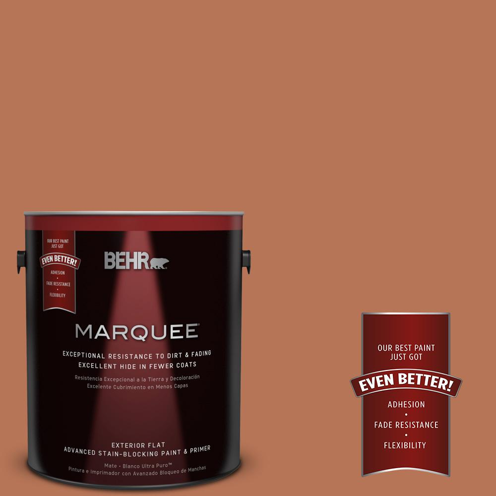 Home Decorators Collection 1-gal. #HDC-AC-06 Campfire Blaze Flat Exterior Paint