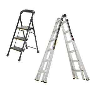 Gorilla Ladders 22 ft  Reach MPX Aluminum Multi-Position Ladder with