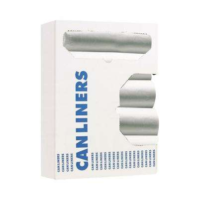 60 Gal. Micron Clear Can Liners (200-Count)