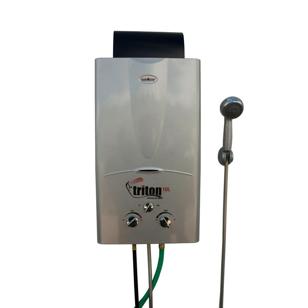 Portable Water Boiler ~ Camp chef triton l portable water heater hwd the
