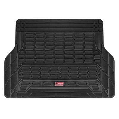 Black All Weather 53 in. x 36 in. PVC Cargo Mat