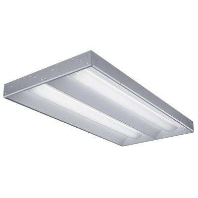 2 ft. x 4 ft. RT5 2-Light Lamped Volumetric White Fluorescent Troffer