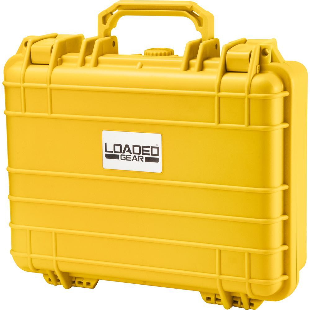 Loaded Gear 13 in. HD-200 Hard Case in Yellow