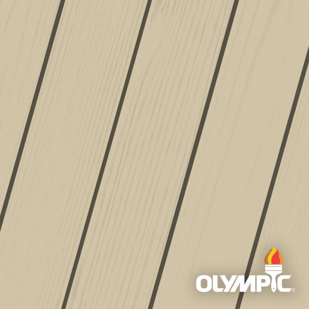Olympic Elite 8 oz. Hemp Solid Advanced Exterior Wood Stain Sample