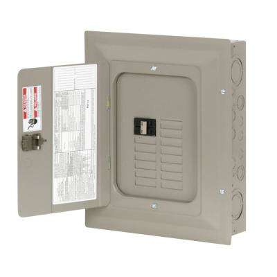 CH 100 Amp 28-Circuit Indoor Main Breaker Plug-On Neutral Load Center