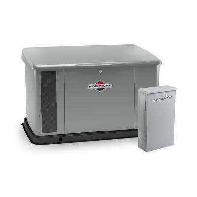 17,000-Watt Automatic Air Cooled Standby Generator with 100 Amp Whole House Transfer Switch