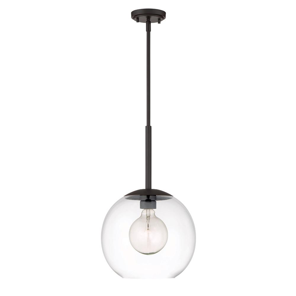 Designers Fountain Meridian 1-Light Satin Bronze Interior Pendant