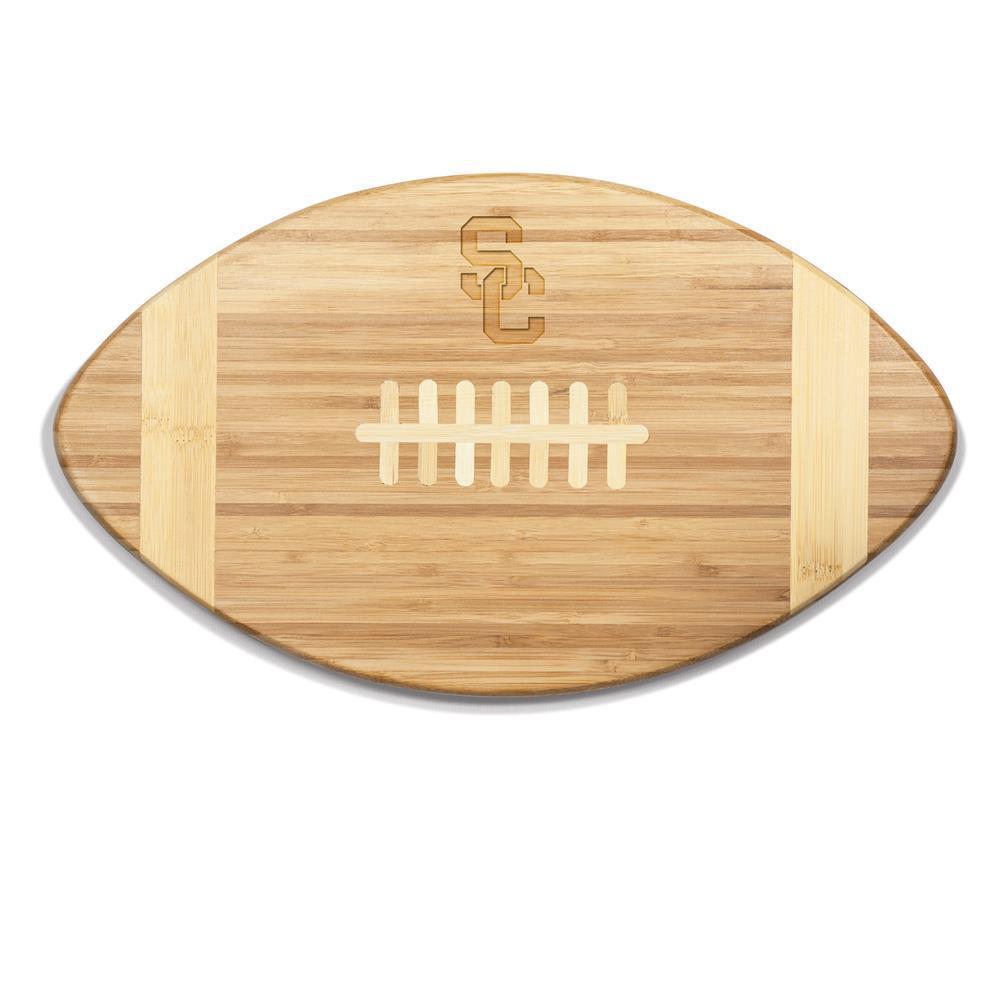 USC Trojans Touchdown Bamboo Cutting Board