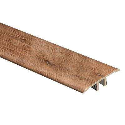 Trail Oak/Georgia Clay 1/3 in. Thick x 1-3/4 in. Wide x 72 in. Length Vinyl T-Molding
