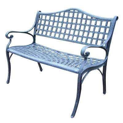 Elite Aluminum Settee Outdoor Bench