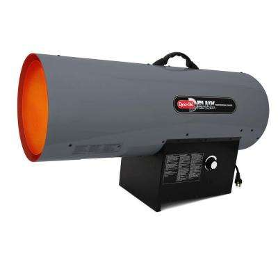 300k BTU Forced-Air Propane Portable Heater with Thermostat