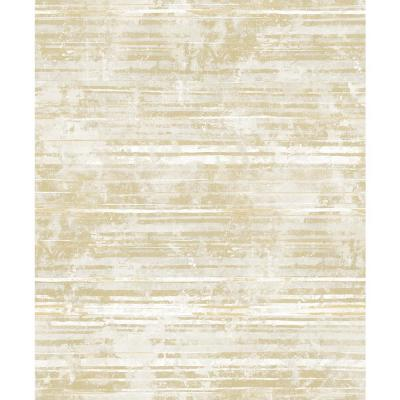 Makayla Apricot Stripe Wallpaper Sample