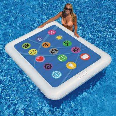 Smart Tablet Float 67 in. x 50 in. Floating Pool Mattress
