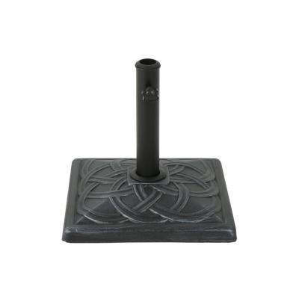 Vita 28.57 lbs. Concrete Patio Umbrella Base in Hammered Iron