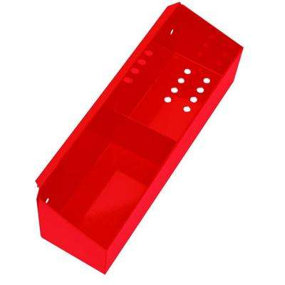 Professional 27 in. Side Tool Holder in Red