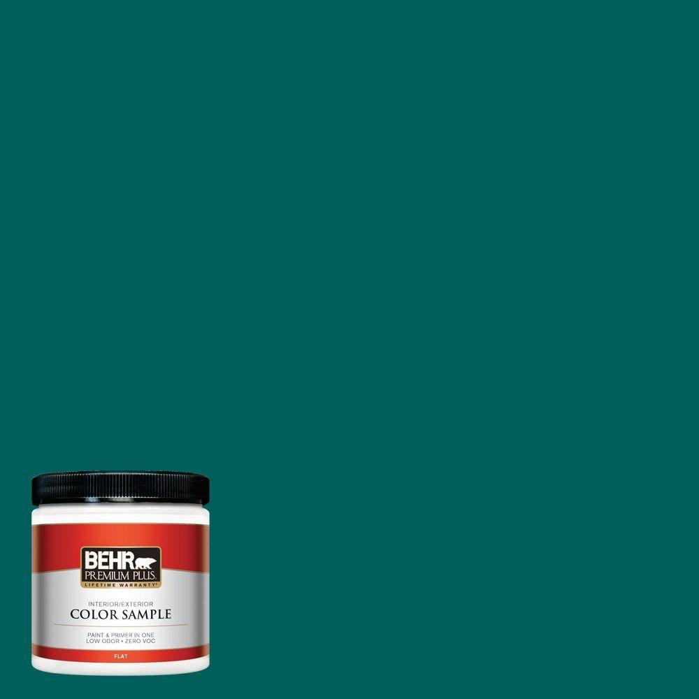 BEHR Premium Plus 8 oz. #S-H-490 Billiard Table Interior/Exterior Paint Sample